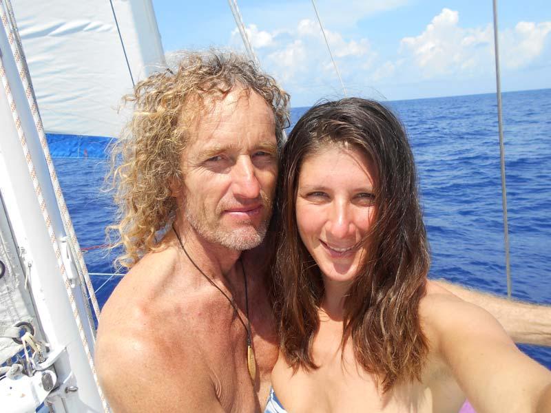 Judith und Andreas auf der Mellifera