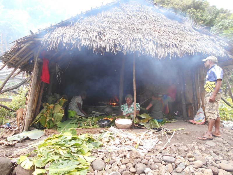 Küchenhaus auf Erromango Vanuatu