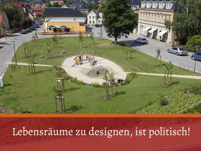 entwerfendes Design: Robert-Werner-Platz