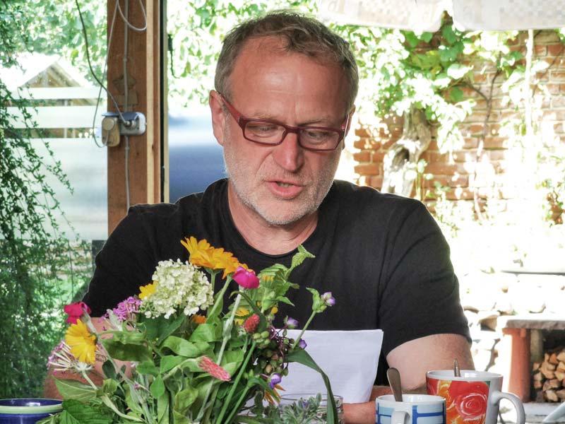 Permakultur-Design-Kurs: Kursleiter Robert Strauch. (Foto © Julia Kunze)